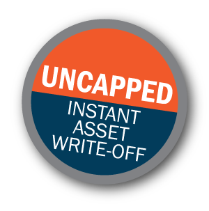 Uncapped Instant Asset Write off