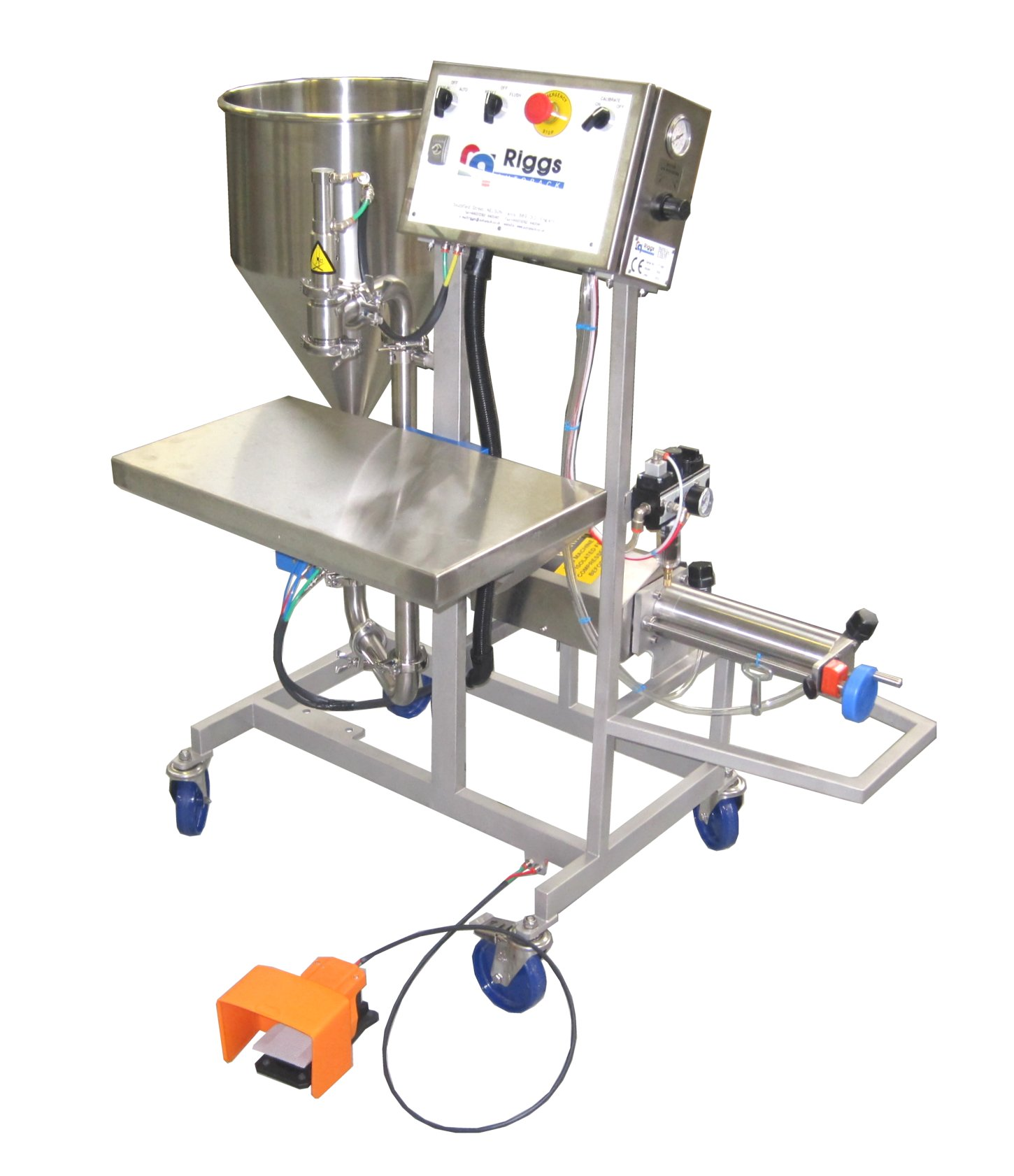 Option 1 Filling Machine With 40 Litre Hopper